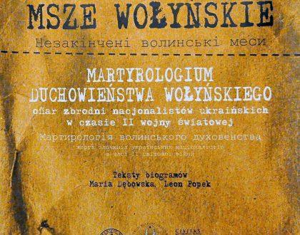 """""""Niedokończone msze wołyńskie"""" - wystawa w parafii pw. Świętej Rodziny w Lublinie"""