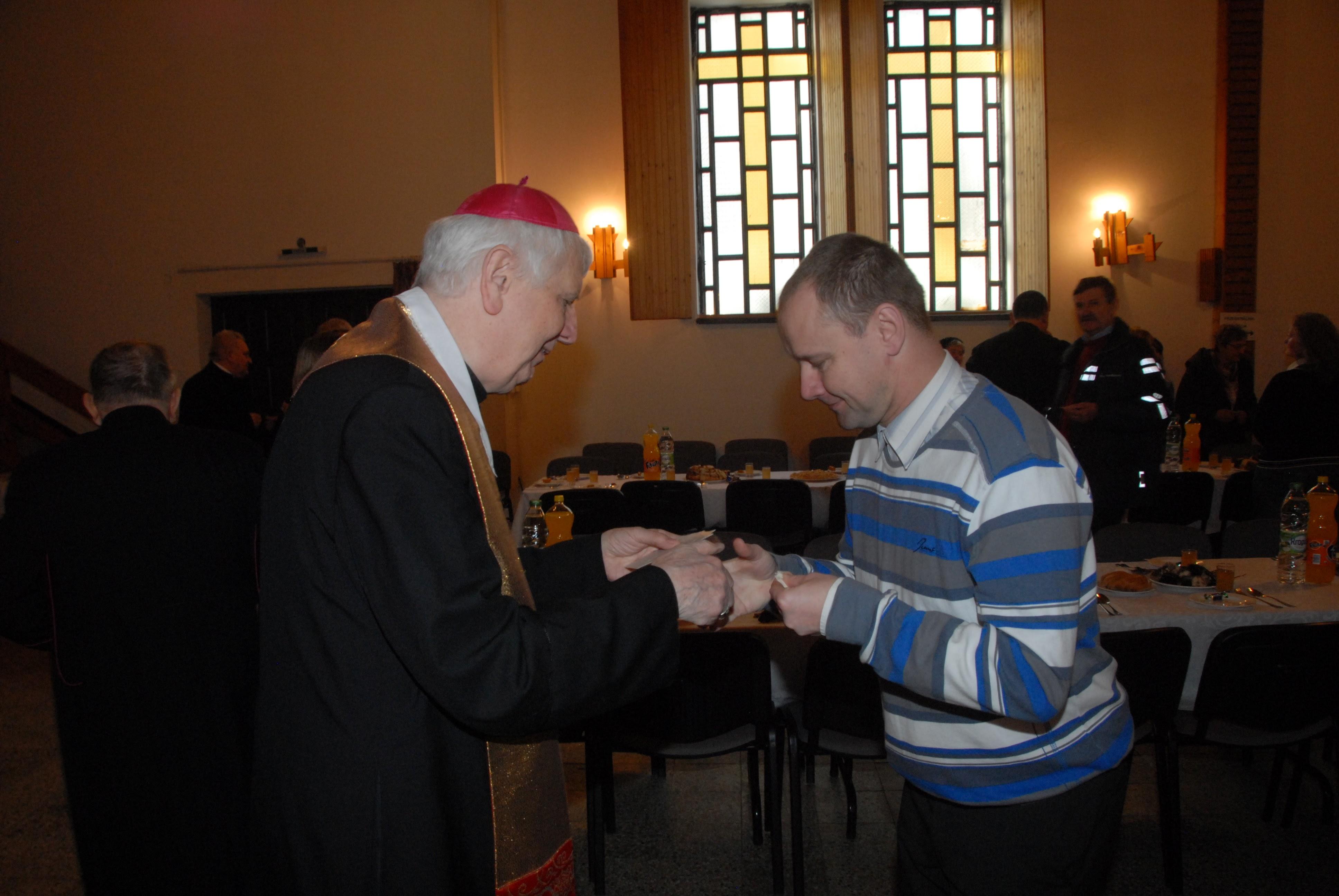 Wigilia dla osób samotnych w Domu Akcji Katolickiej 24.12.2015 r.