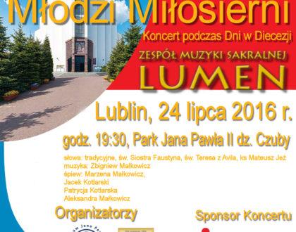 Koncert Młodzi Miłosierni - Zespół LUMEN