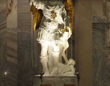 [video] Powitanie znaku Figury Świętego Michała Archanioła z Gargano - 14.10.2016