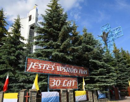 30-lecie pobytu papieża Jana Pawła II w parafii pw. Św. Rodziny w Lublinie