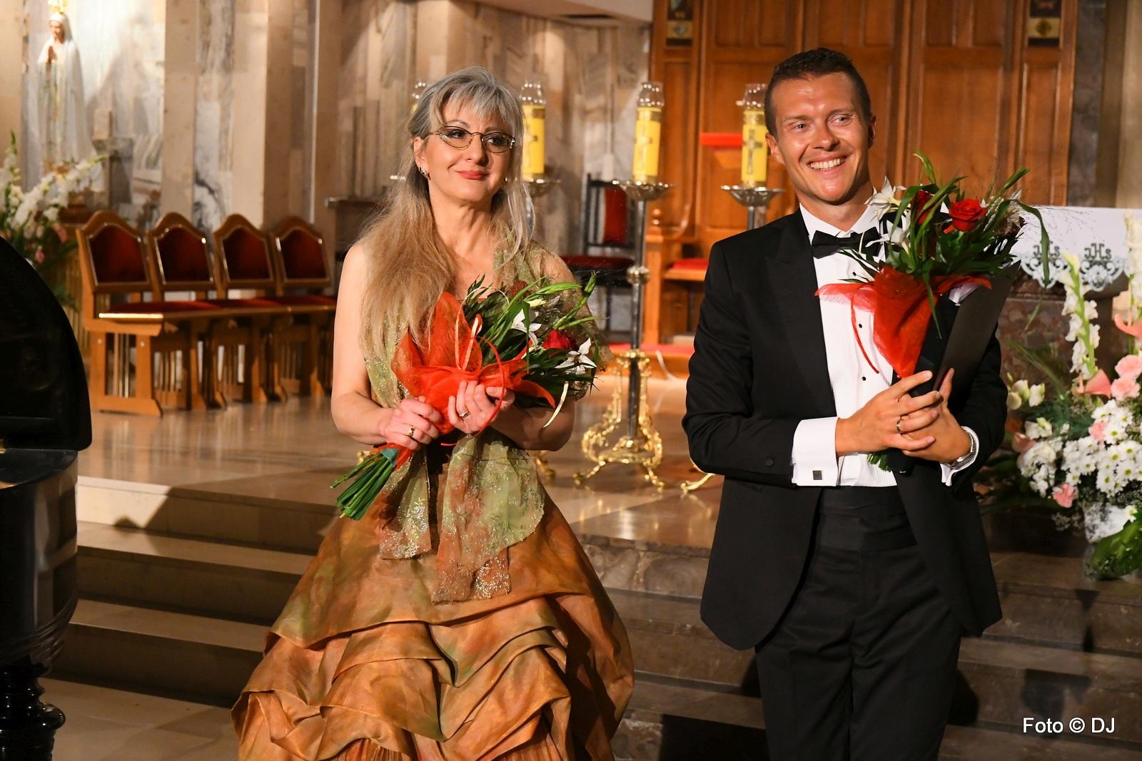 Agnieszka Schulz-Brzyska - fortepian, Jakub Gąska - tenor
