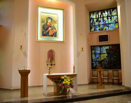 Poświęcenie odremontowanej Kaplicy Adoracji - zdjęcia i video (kazanie Abp)