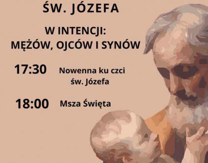 Modlitwa za wstawiennictwem Św. Józefa - każdy 19. dzień miesiąca