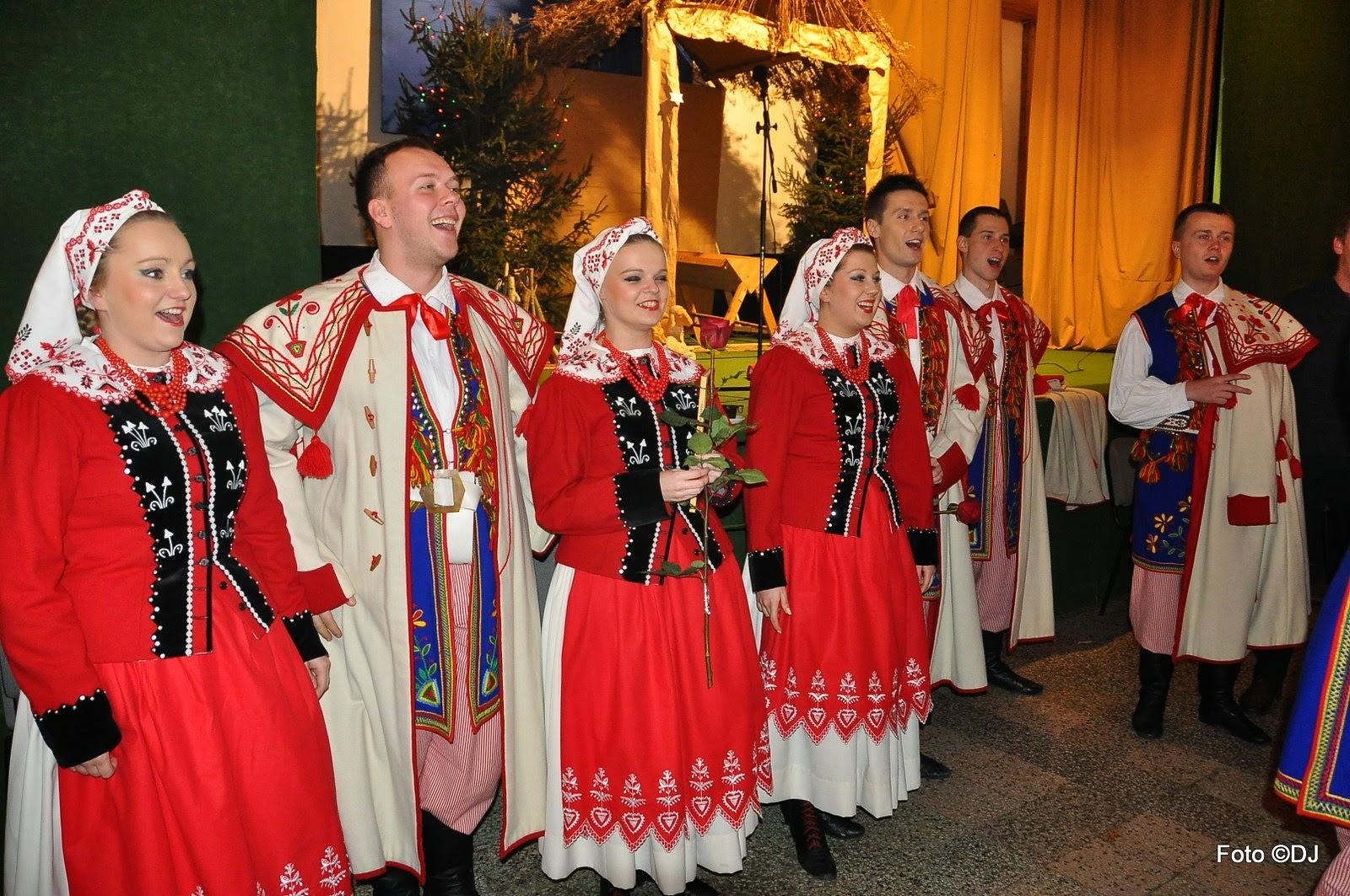 Przyjęcie po koncercie Zespołu Pieśni i Tańca Ziemi Lubelskiej w par. Św. Rodziny w Lublinie - 2015