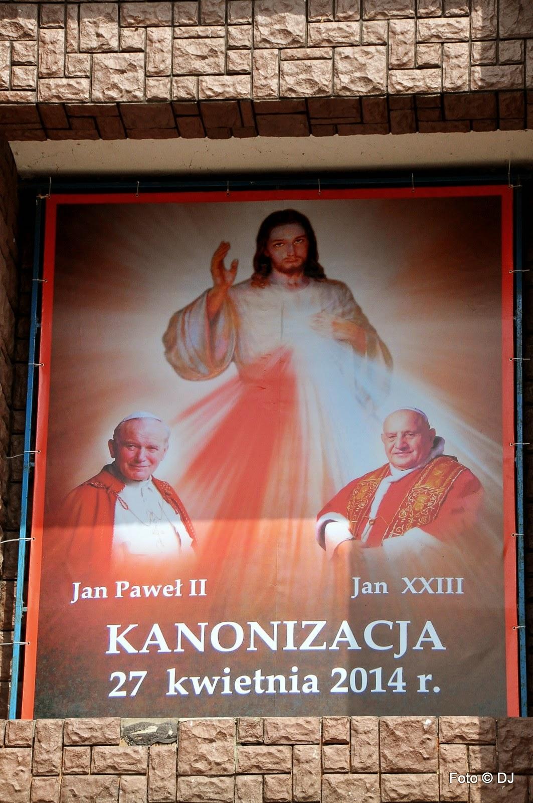 Kanonizacja błogosławionych papieży Jana XXII i Jana Pawła II - Parafia Św. Rodziny w Lublinie