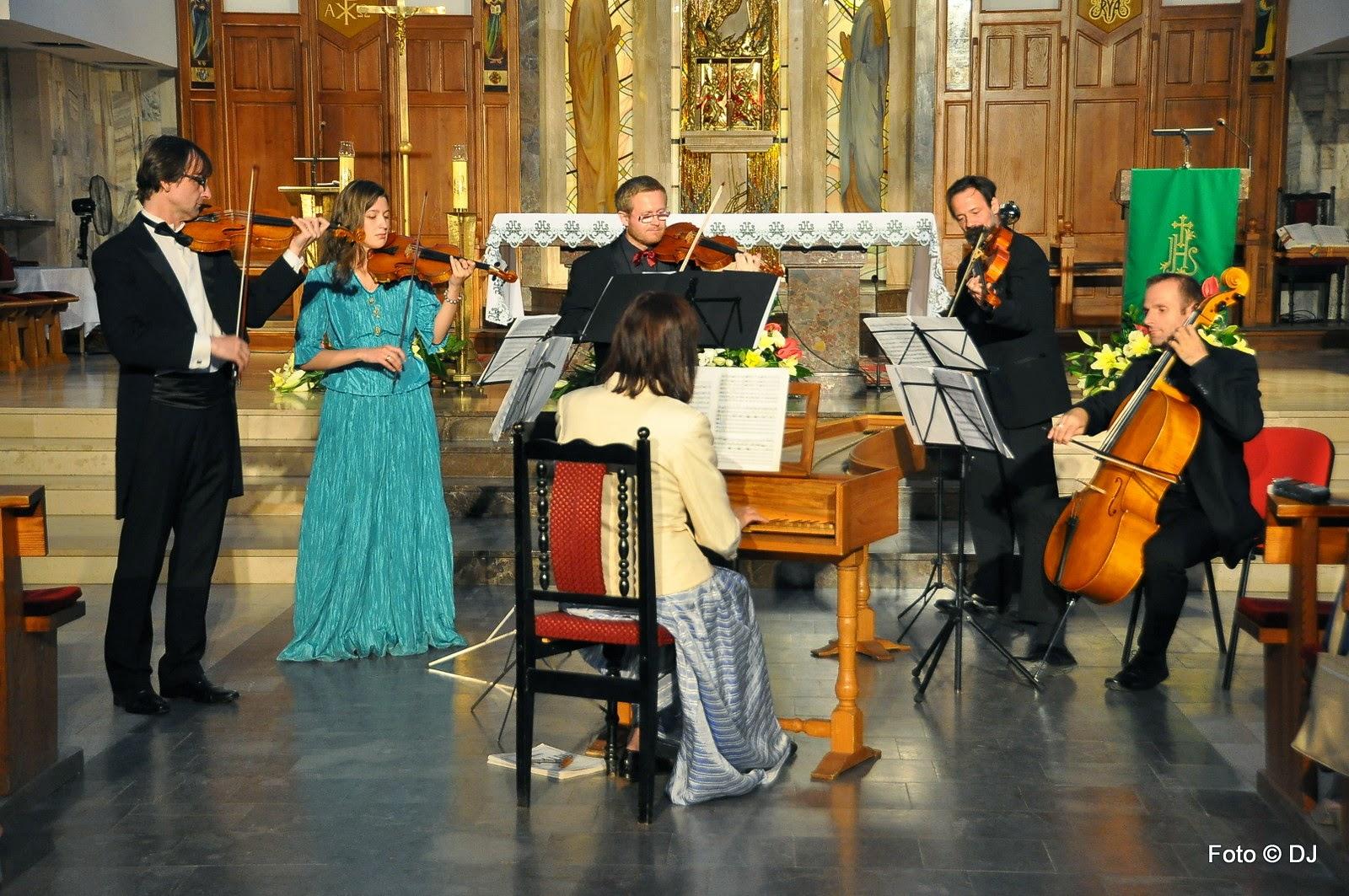 XVIII Festiwal Organowy Lublin Czuby - Koncert Antonio Vivaldi - Pory Roku