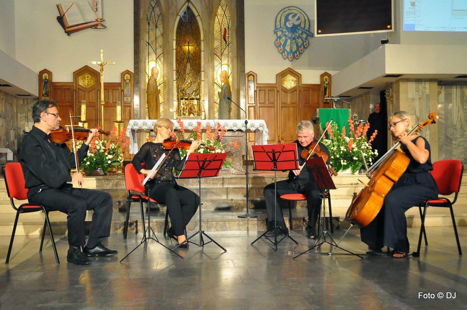 Koncert Quatuor Europa - Jan Paweł II Papież Wolności - Lublin - Czuby 2014