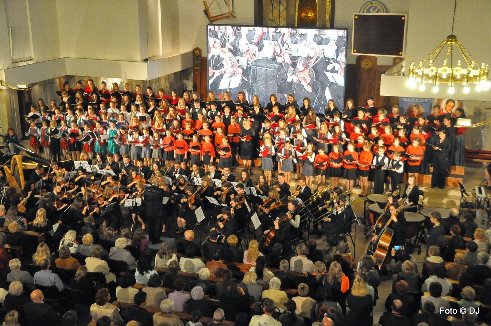 Koncert Missa pro Sancte Johannes Pauli II muz. Marek Stefankiewicz - Parafia Św. Rodziny w Lublinie