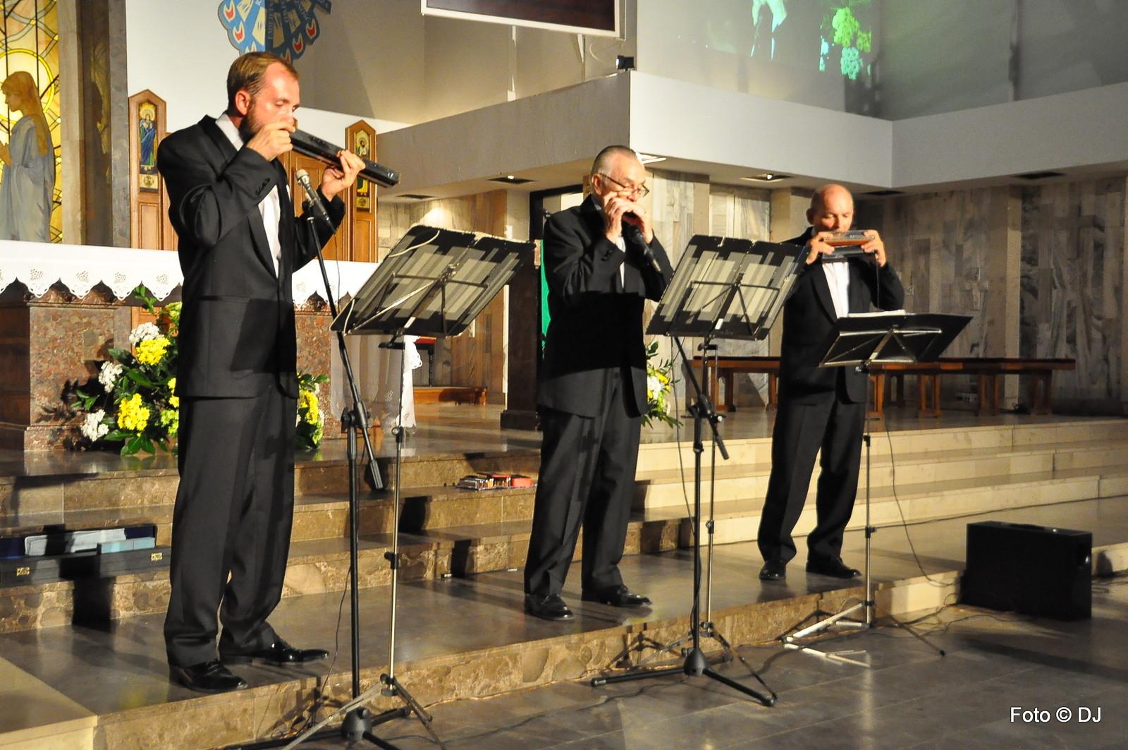Koncert Trio Harmonijek Ustnych CON BRIO