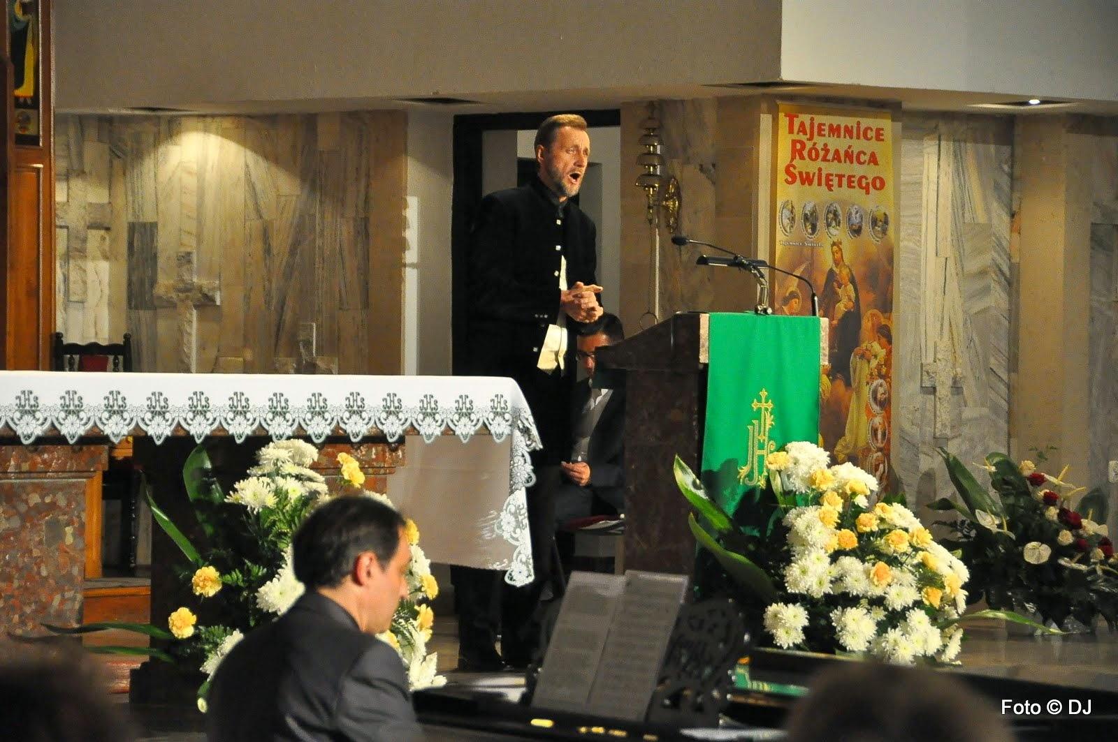 """Koncert """"Lublin Jana Pawła II"""" - parafia pw. Świętej Rodziny w Lublinie"""
