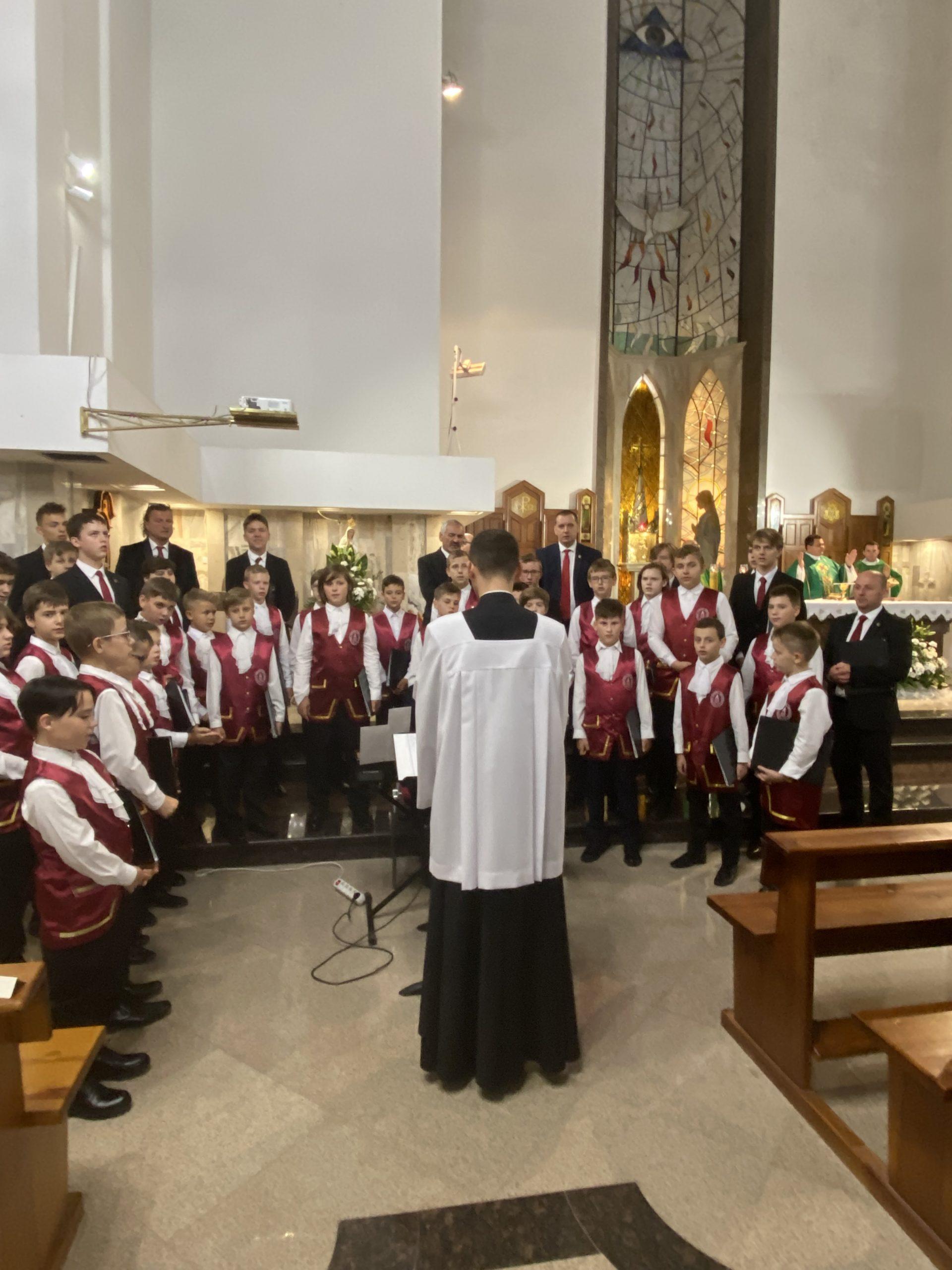Msza Św. z udziałem Archidiecezjalnego chóru chłopięco-męskiego Pueri Cantores Lublineses 12.09.2021