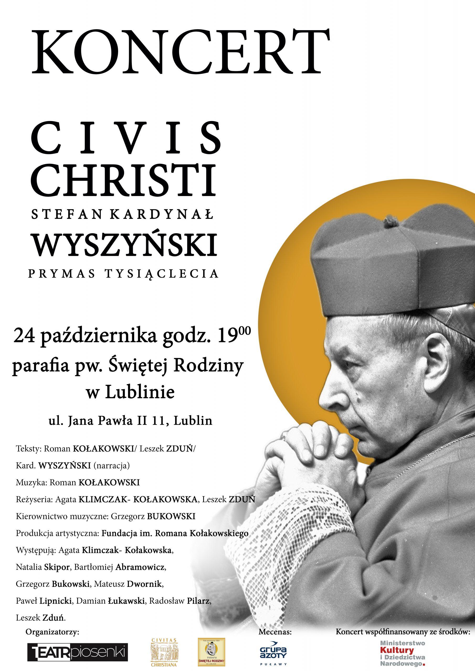"Koncert ""Civis Christi"""